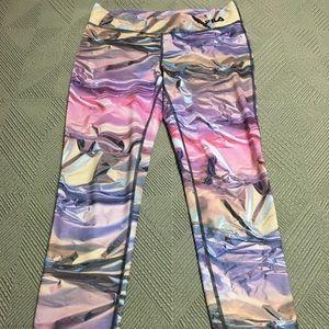Fila multi long workout pant - size S